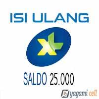Pulsa Reguler XL - XL- 25rb